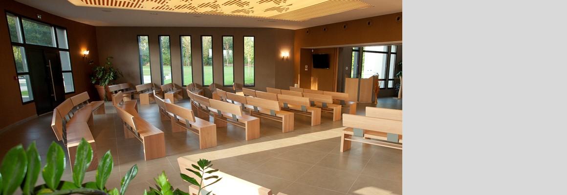 Salle de recueillement à Villedieu Les Poêles (50)